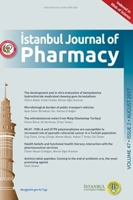 Istanbul Journal of Pharmacy