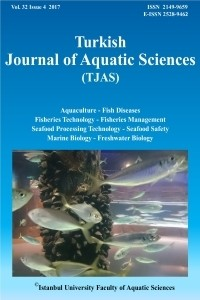 Turkish Journal of Aquatic Sciences