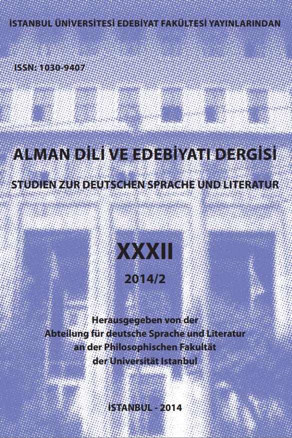 Alman Dili ve Edebiyatı Dergisi