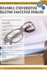 İstanbul Üniversitesi İşletme Fakültesi Dergisi