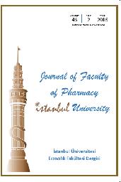 İstanbul Üniversitesi Eczacılık Fakültesi Dergisi
