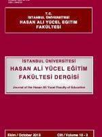 Hasan Ali Yücel Eğitim Fakültesi Dergisi